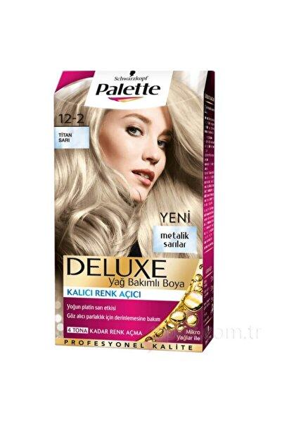 Palette Saç Boyası 12-2 Titan Sarı