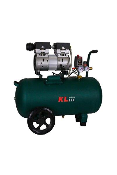 KLPRO Yeşil Sessiz Hava Kompresörü 1 Hp 50 lt 8 Bar Klk50s