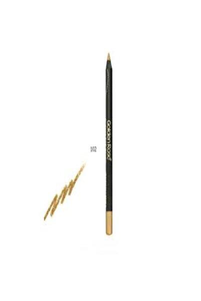 Golden Rose Glitter Eyeliner Göz Kalemi 102 Gold