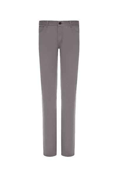 Bisse Kadın Gri Slim Fit 5 Cep Spor Pantolon