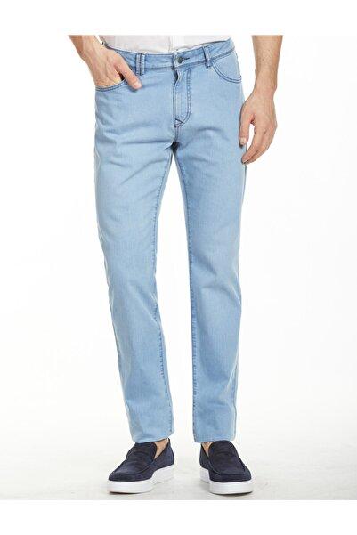 Bisse Erkek Mavi Likralı 5 Cep Jean Pantolon