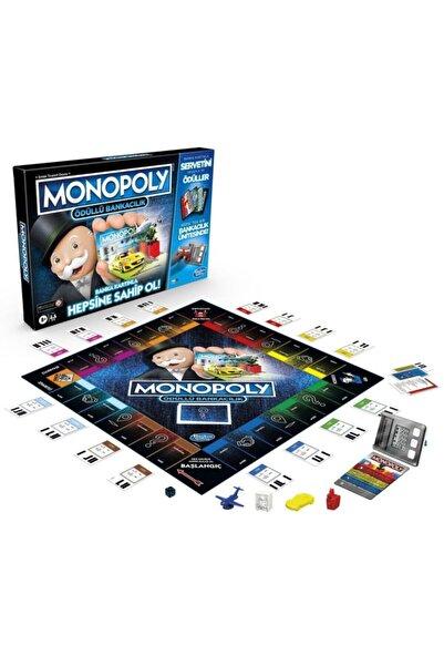 Monopoly E8978 Monopoly Ödüllü Bankacılık/ Gaming +8 Yaş