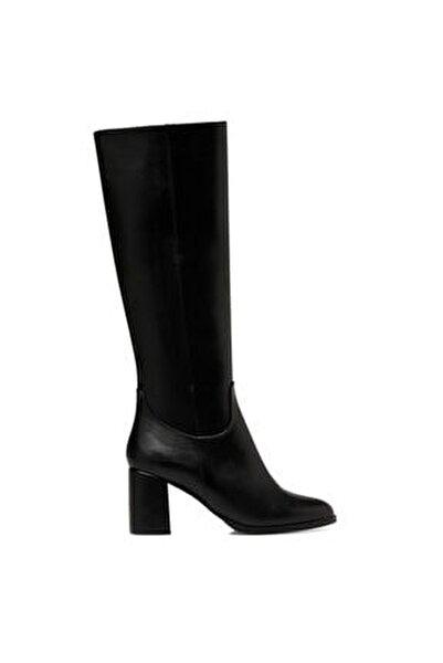 MASSA3 Siyah Kadın Ökçeli Çizme 100581295
