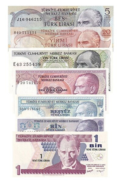 Benim Koleksiyonum Eski Kağıt Para Koleksiyonu Başlangıç Seti Karma