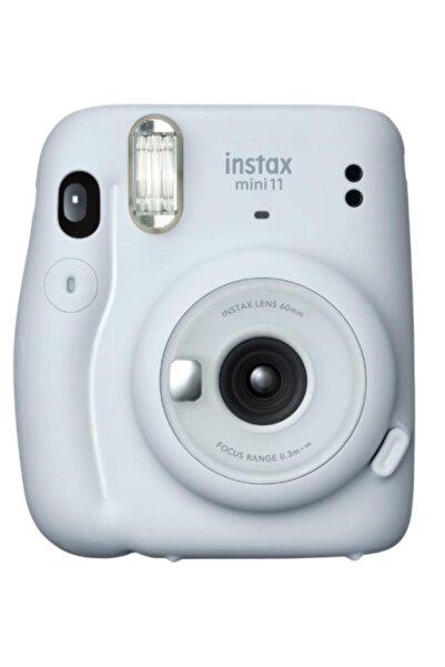 Fujifilm Beyaz Instax Mini 11 Beyaz Fotoğraf Makinesi 20li Film
