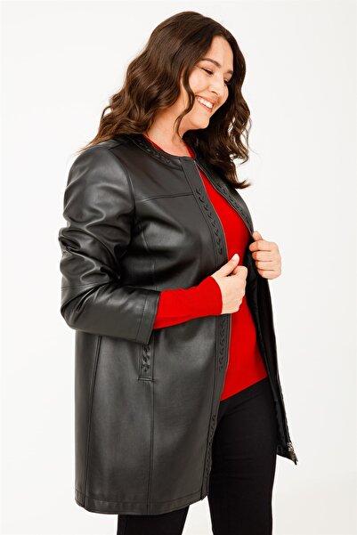 Moda İlgi Kadın Siyah Ceket