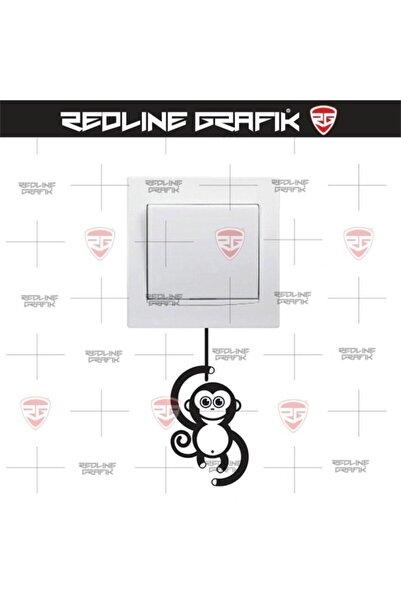 Q&Q Maymun Figürlü Priz Sticker