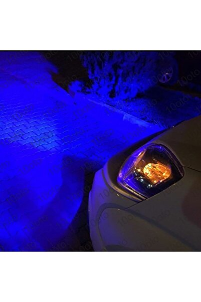 10oto Deli Mavi H1 Led Xenon 9000 Lümen Şimşek Etkili H1