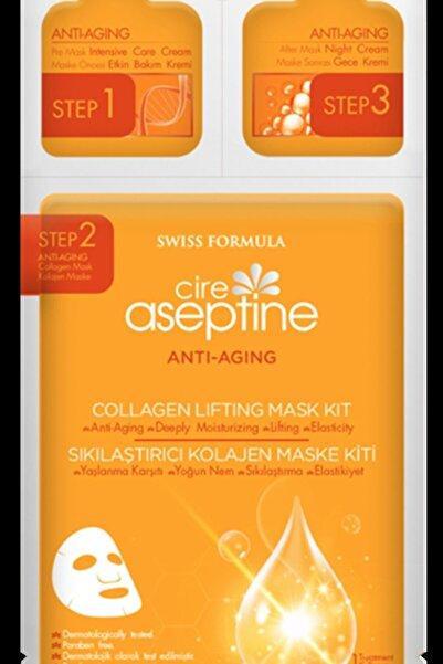 CIRE ASEPTINE Anti-aging Sıkılaştırıcı Kolajen Yüz Maske Kiti