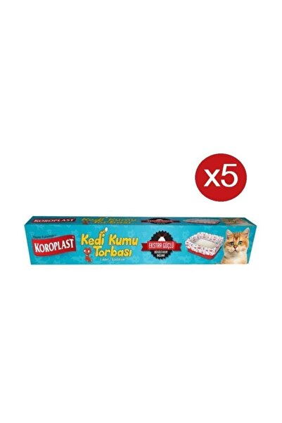 Koroplast Kedi Kumu Torbası 7'li X 5 Paket (82*50)