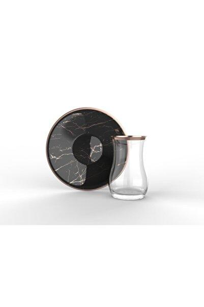 ACAR Efegil 12 Parça Meneviş Basic Çay Bardak Takımı Seti