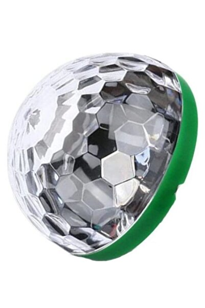 Boss Rutter Sese Duyarlı Usb Rgb Ledli Disco Topu Disko 3w Micro Usb Aparatlı