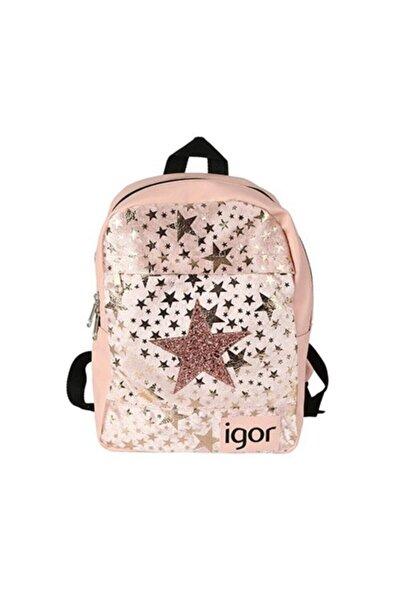 IGOR Kız Çocuk Pembe Star Okul Sırt Çanta  W80313