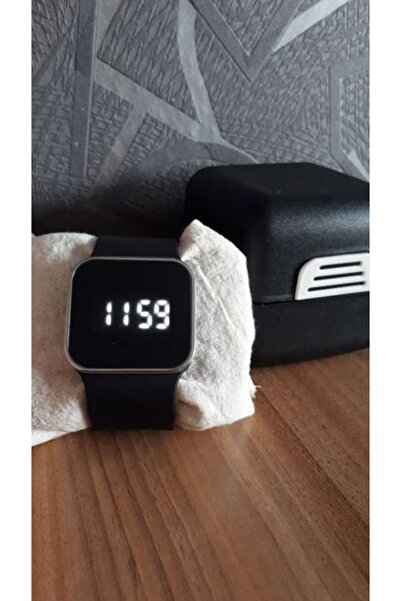 WatchArt Trend Moda Dijital Watch Dokunmatik Led Kol Saati Unisex Siyah Og805syh