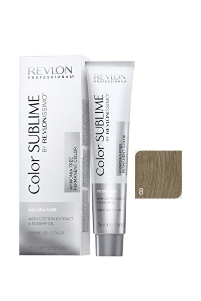 Revlon Issimo Color Sublime Color & Care 8 Açık Kumral 8432225093635 (Oksidansız)