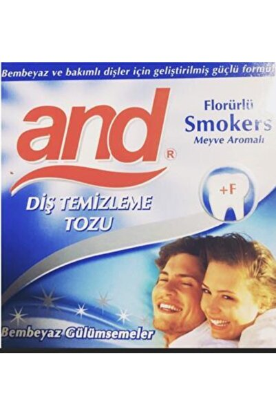 Oral-B And Dıs Tozu Smokers 40gr