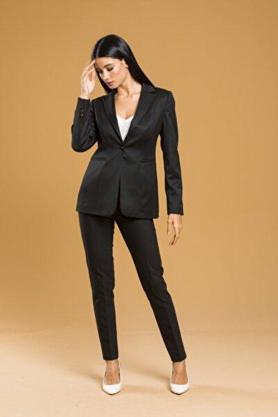 Belissi Kadın Siyah Ofis Takım Elbise