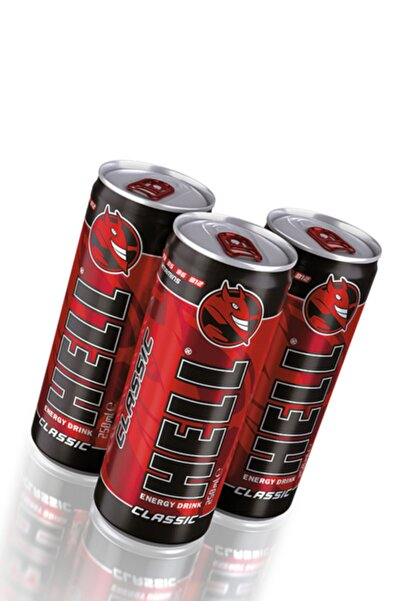 Hell Energy Drink Classic 24 Adet