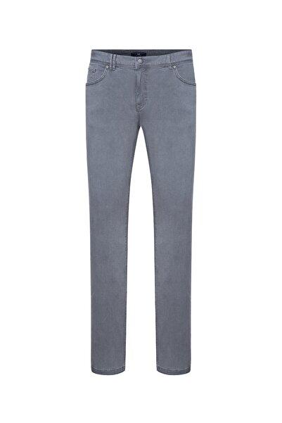 Bisse Erkek Gri Regular Fit 5 Cep Jean Pantolon