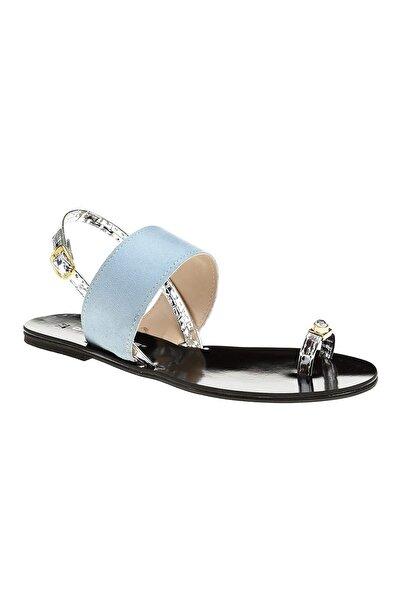 David Jones Kadın Mavi Sandalet