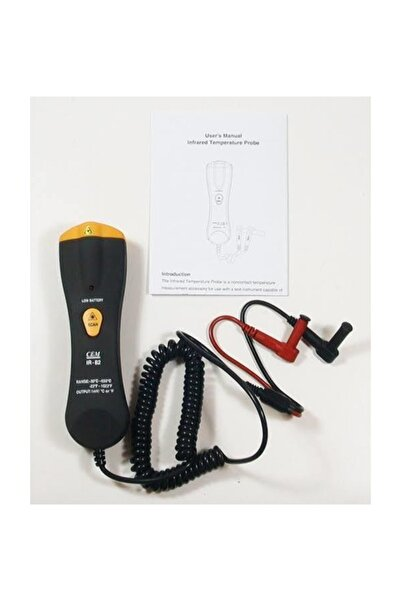 Cem Ir 82 Infrared Termometre Probu(-35*550c) 35 Isı Probu