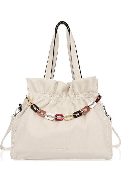 David Jones Kadın Beyaz Omuz Çanta