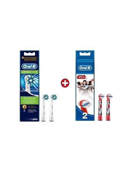 Oral-B Diş Fırçası Yedek Başlığı Cross Action 2'li+starwars 2 Li
