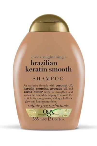OGX Organix Brazilian Keratin Smooth Şampuan 385 Ml