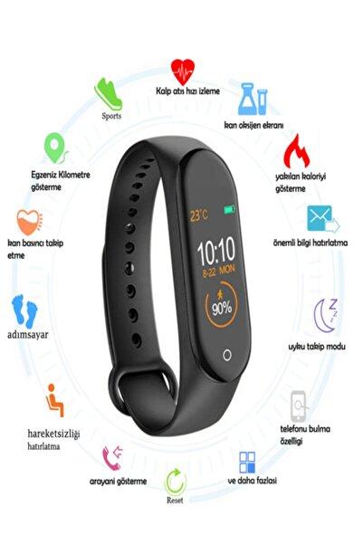 Mkey M5 Arama Yapabilen Akıllı Saat,android Ve Ios Uyumlu Çok Özellikli Akıllı Bileklik