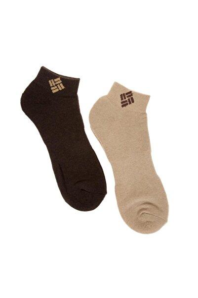 Columbia Erkek Kahverengi Kisa Çorap C3n6-bbe