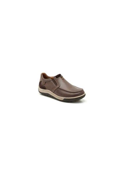 CLARKS Erkek Kahverengi Reeder Step Ayakkabı