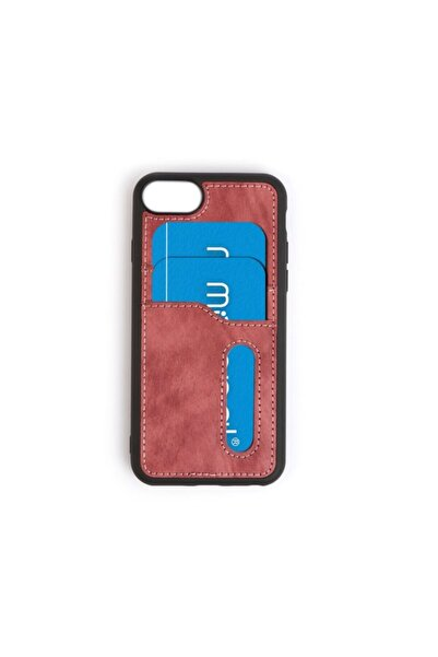 Mopal Iphone 6 6s Kart Girişli Süet Card