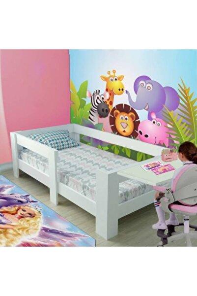 Brady Alya Mdf Montessori 90x190 Çalışma Masalı Beyaz Çocuk Karyolası