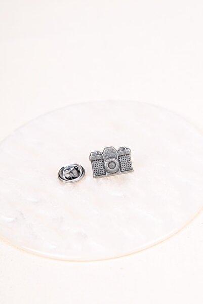 BAYEFENDİ Analog Fotoğraf Makinesi Metal Rozet 2 cm