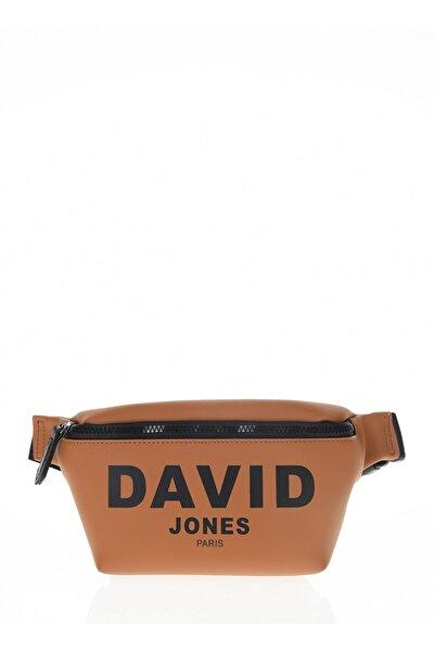 David Jones Kadın Turuncu Bel Çantası