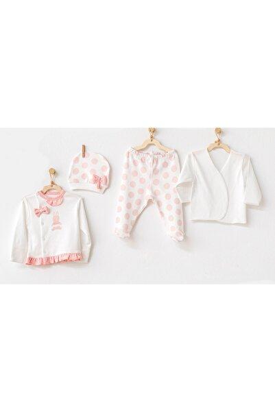 andywawa Bebek Hastane Cıkısı 4 Pcs Newborn Tul Set Ac21134