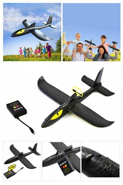 xolo Siyah Panter Uçan Uçak Şarjlı Sünger Kırılmaz Uçak