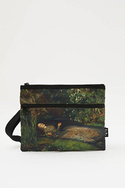 Pull & Bear Erkek Renkli Tate Art Collection Çapraz Askılı Çanta 09822528
