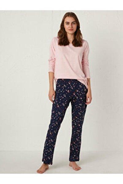 Kadın Lacivert Pijama Takım