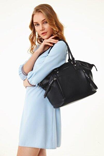 Kadın Siyah Omuz Çanta
