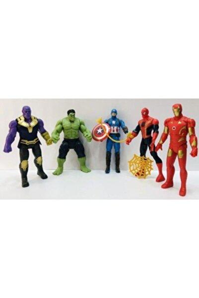 AVENGERS Thanos Hulk Spiderman Figür 11,5 cm