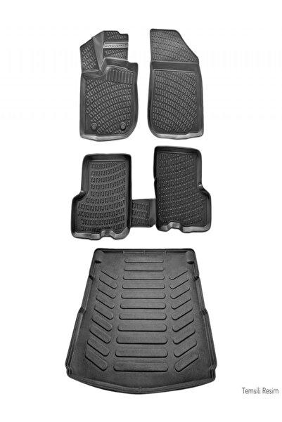 Rizline Hyundai Accent Era 2006 -2012 3d Paspas Siyah & Bagaj Havuzu Set