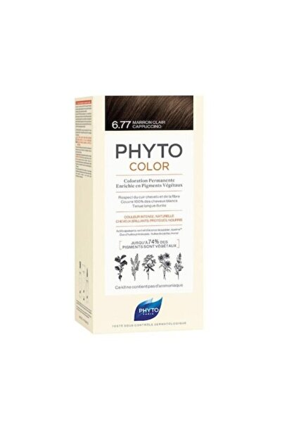 Phyto Color 6.77 - Cappuccino Kahve Bitkisel Saç Boyası
