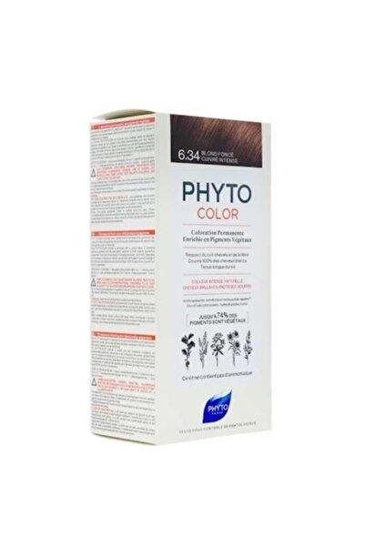 Phyto Color 6.34 - Koyu Kumral Dore Bakır (bitkisel Saç Boyası)