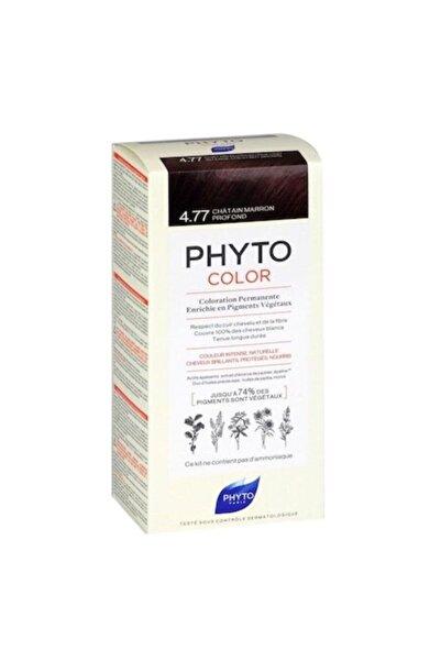 Phyto 4.77 - Yoğun Kestane Bakır Bitkisel Saç Boyası