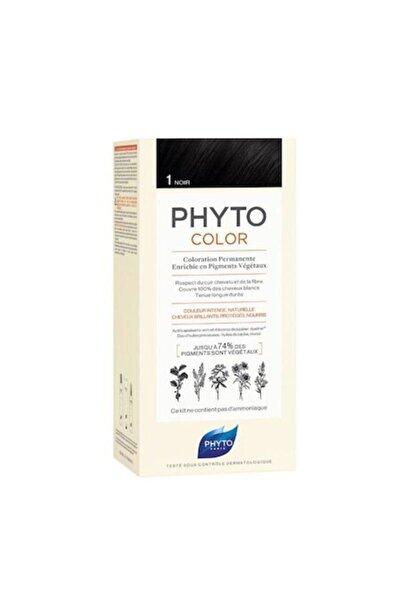 Phyto 1- Siyah Bitkisel Saç Boyası