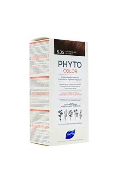 Phyto Color 5.35 Açık Kestane Dore Akaju Saç Boyası