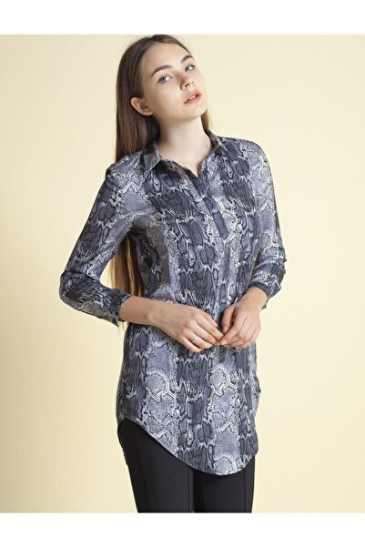 Fashion Friends 0815 Desenli Tunik Gömlek