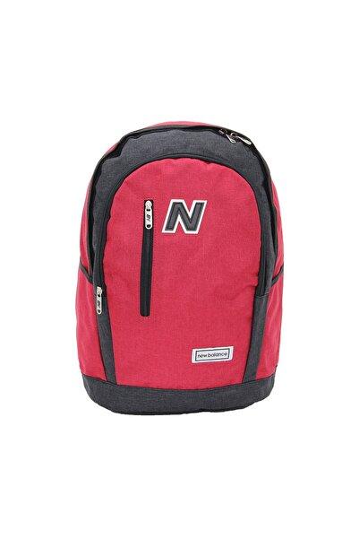 New Balance Sırt Çantası 89428 Siyah & Kırmızı