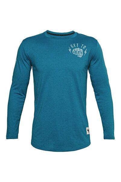 Under Armour Erkek Spor T-Shirt - Ua Pjt Rock Get To Work Ls - 1357195-446
